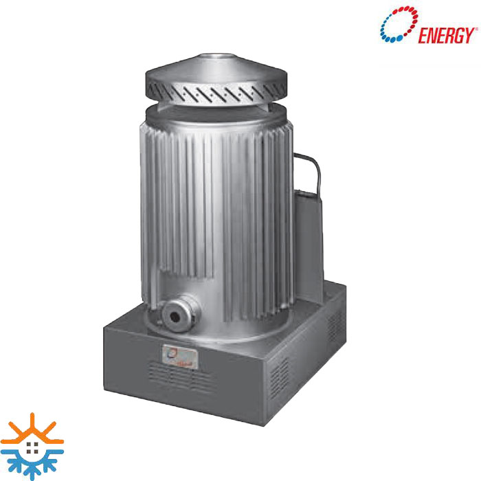 بخاری کارگاهی گازی مدل DW انرژی