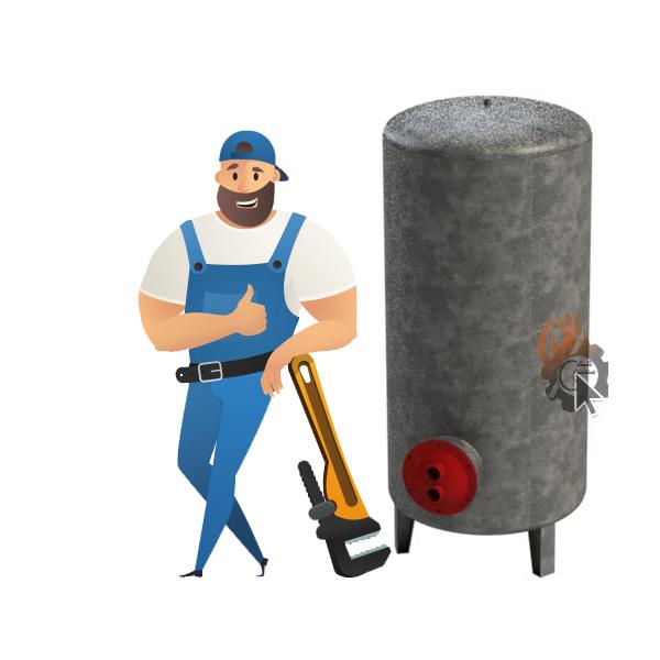 تعمیر و تعویض منبع کویل دار