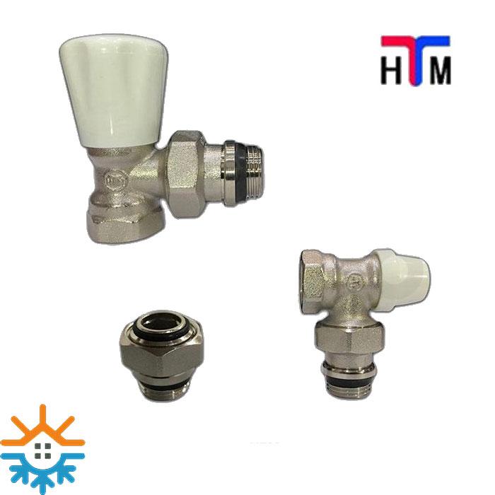 شیر زانویی رادیاتور طرح ساده HTM