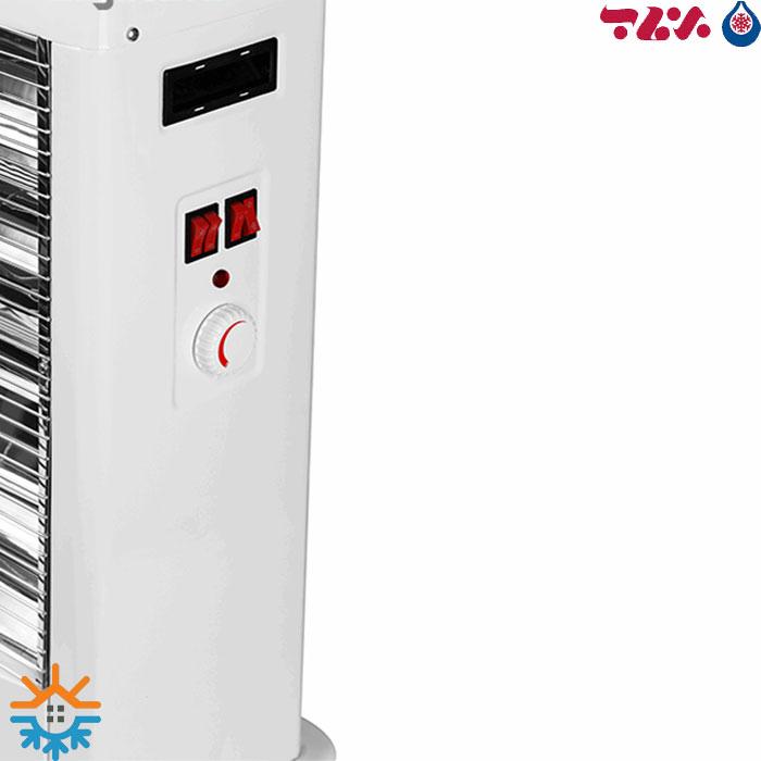 بخاری برقی فن دار برفاب QH-2800